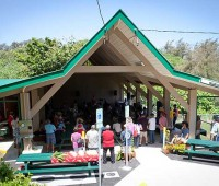 Community members gathered on May 12 to celebrate the grand re-opening of Keokea Beach Park, which sustained damages in the October 2006 earthquake and had to undergo renovations. (PHOTO BY ANNA PACHECO|SPECIAL TO NHN)