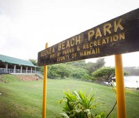 On May 12, Keokea Beach Park held a grand re-opening, celebrating the completion of repairs to the buildings that had sustained earthquake damage in October 2006. (PHOTO BY ANNA PACHECO|SPECIAL TO NHN)