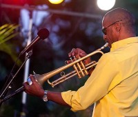 Skip Martin was among the line up of musicians at the Big Island Jazz and Blues Festival on June 2. (PHOTOS BY ANNA PACHECO | SPECIAL TO NHN)